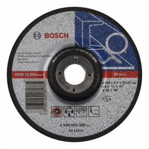Bosch Hrubovací kotouč profilovaný Expert for Metal A 30 T BF, 150 mm, 6,0 mm