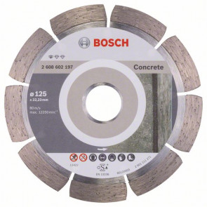 Bosch Diamantový dělicí kotouč Standard for Concrete 125 x 22,23 x 1,6 x 10 mm