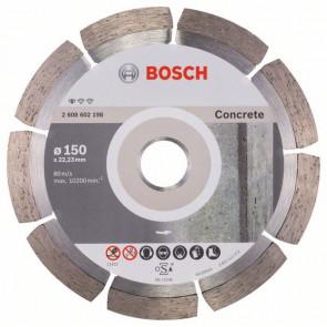 Bosch Diamantový dělicí kotouč Standard for Concrete 150 x 22,23 x 2 x 10 mm