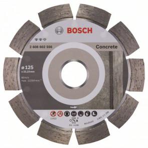 Bosch Diamantový dělicí kotouč Expert for Concrete 125 x 22,23 x 2,2 x 12 mm