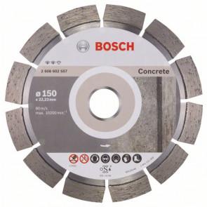 Bosch Diamantový dělicí kotouč Expert for Concrete 150 x 22,23 x 2,4 x 12 mm