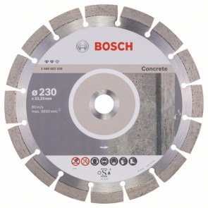 Bosch Diamantový dělicí kotouč Expert for Concrete 230 x 22,23 x 2,4 x 12 mm