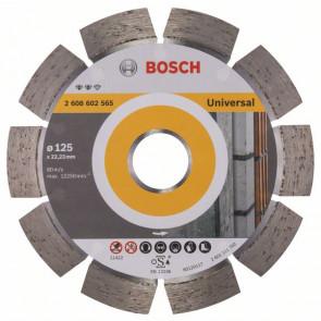 Bosch Diamantový dělicí kotouč Expert for Universal 125 x 22,23 x 2,2 x 12 mm