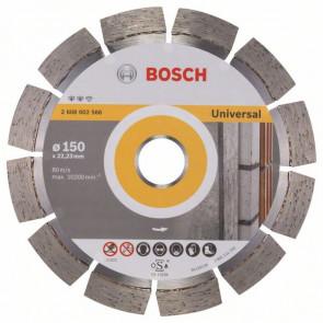 Bosch Diamantový dělicí kotouč Expert for Universal 150 x 22,23 x 2,4 x 12 mm