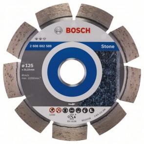 Bosch Diamantový dělicí kotouč Expert for Stone 125 x 22,23 x 2,2 x 12 mm