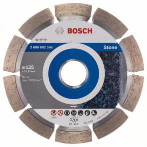 Bosch Diamantový dělicí kotouč Standard for Stone 125 x 22,23 x 1,6 x 10 mm