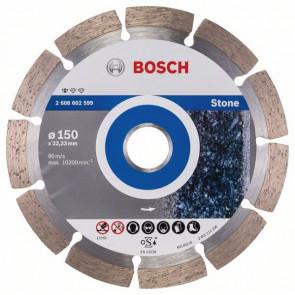 Bosch Diamantový dělicí kotouč Standard for Stone 150 x 22,23 x 2 x 10 mm