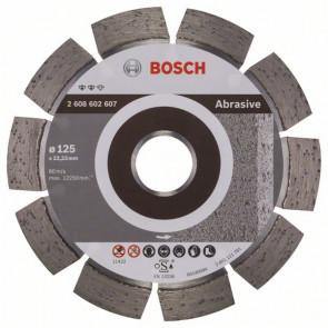 Bosch Diamantový dělicí kotouč Expert for Abrasive 125 x 22,23 x 1,6 x 10 mm