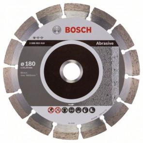 Bosch Diamantový dělicí kotouč Standard for Abrasive 180 x 22,23 x 2 x 10 mm