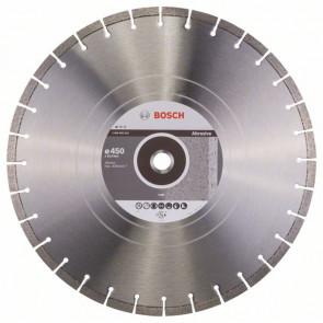 Bosch Diamantový dělicí kotouč Standard for Abrasive 450 x 25,40 x 3,6 x 10 mm