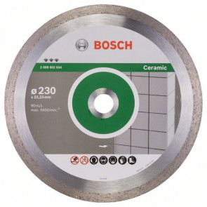 Bosch Diamantový dělicí kotouč Best for Ceramic 230 x 22,23 x 2,4 x 10 mm