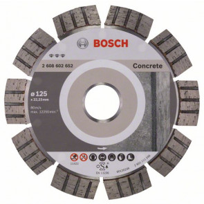 Bosch Diamantový dělicí kotouč Best for Concrete 125 x 22,23 x 2,2 x 12 mm