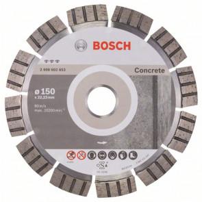 Bosch Diamantový dělicí kotouč Best for Concrete 150 x 22,23 x 2,4 x 12 mm