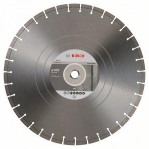 Bosch Diamantový dělicí kotouč Expert for Concrete 500 x 25,40 x 3,6 x 10 mm