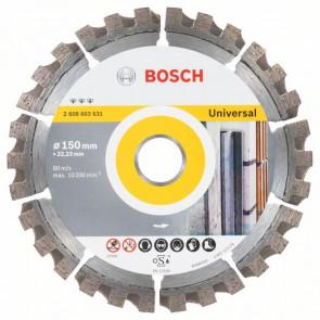 Bosch Diamantový dělicí kotouč Best for Universal 150 x 22,23 x 2,4 x 12 mm