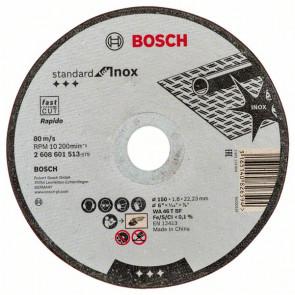 Bosch Dělicí kotouč rovný Standard for Inox WA 46 T BF, 150 mm, 22,23 mm, 1,6 mm