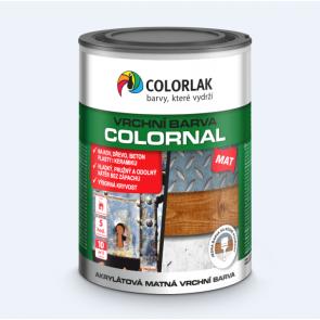 COLORNAL MAT V2030 tmavě hnědá 0,6L