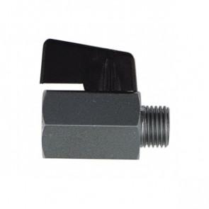 Mini-guľový kohút KH-20 G1/4i x G1/4a