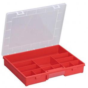 Allit 457230 Organizátor box EuroPlus Basic 37/12, červená
