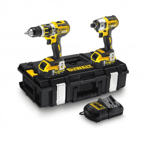 DeWalt DCK250P2 CS 18V XR Li-Ion HDD and Impact in DS150