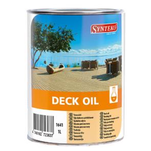 Synteko DECK OIL palubkový olej  pro základní ošetření 1L