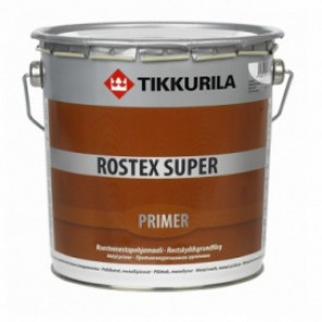 ROSTEX SUPER IRONOXIDE RED 3 L