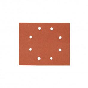 DeWalt DT3015 1/4 děrovaného archu brusného papíru - 8 otvorů v kruhu