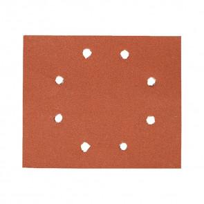 DeWalt DT3025 1/4 děrovaného archu brusného papíru - suchý zip - 8 otvorů v kruhu