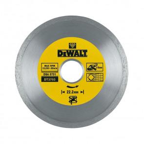 DeWalt DT3703 Diamantové kotouče se spojitým obvodem pro suché řezání