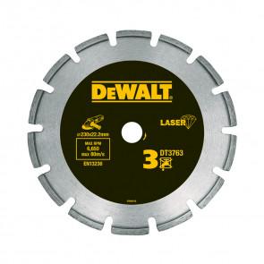 DeWalt DT3763 Kotouč se segmenty navařenými laserem pro tvrdé materiály/žulu - pro suché řezání