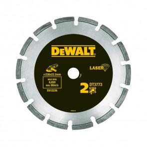 DeWalt DT3773 Kotouč se segmenty navařenými laserem pro abrazivní materiály/beton - pro suché řezání