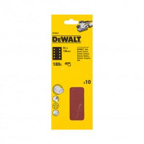 DeWalt DT8623 1/3 děrovaného archu brusného papíru - suchý zip - 8 rovnoběžných otvorů