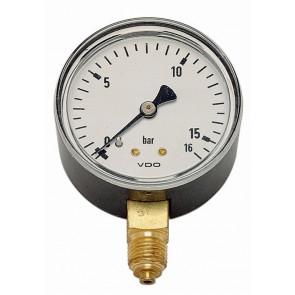 tandardné manometer MM-W 50-1/4 6bar zvislý