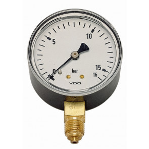 tandardné manometer MM-W 50-1/4 10bar zvislý