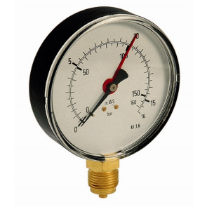 Manometer pre vzdušník 100-1/2 25 bar