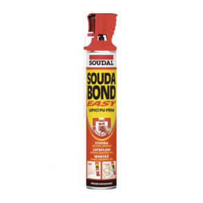 Soudal SOUDABOND EASY PU lepidlo v aerosólovom balení trubičková 750ml lepiaca pena 750g