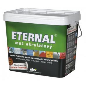 ETERNAL mat akrylátový 10 kg středně hnědá 021