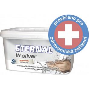 ETERNAL IN SILVER antibakteriální malířská barva s obsahem stříbra  4kg