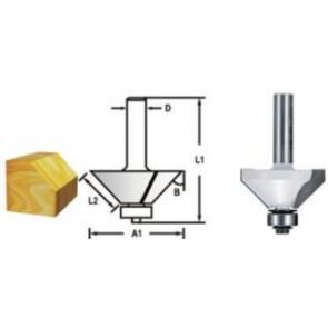 Makita D-48717 Fazetová/hranová fréza s ložiskem 45°