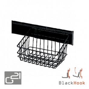 Závěsný systém G21 BlackHook small basket 30 x 22 x 23 cm