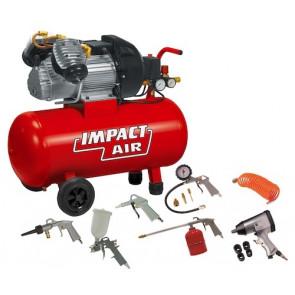 Nuair Garage master kit olejový kompresor + sada vzduchového nářadí