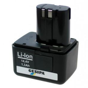 GESIPA aku Li-Ion 14,4 V / 1,3 Ah 7251045