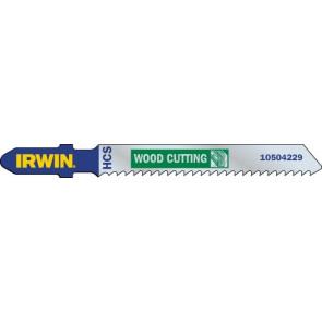Listy do priamočiarych píl HCS 100 mm, 10 TPI, T101BR, vybrusovanie obrátenej ozubenie, 5 ks