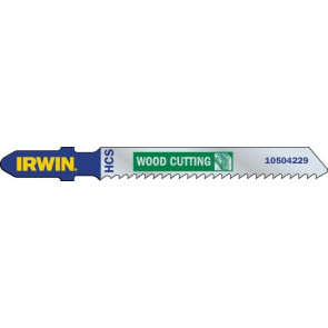 Listy do priamočiarych píl HCS 83 mm, 20 TPI, T101AO, vybrusovanie, ostré kontúry, 5 ks