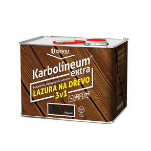 Detecha Karbolineum Extra 3,5 kg čerešňa-impregnačný lazúrovací náter na drevo