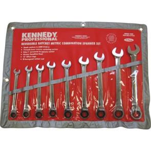 KENNEDY sada ráčnových klíčů 9dílná KEN5826796K