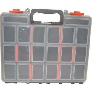 Plastový servisný profesionálne kufor na náradie 380 x 60 x 335 mm