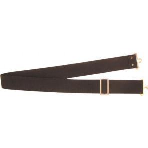 Opasok polyesterový, farba čierna