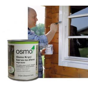 OSMO Krycí barva na dřevo 2104 0,375 l bílá