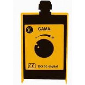 OMICRON dálkové ovládání ANALOG GAMA A otočné délka 5m